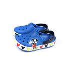 Crocs x Disney 米奇 涼鞋 前包後空 防水 藍色 小童 童鞋 206307-4JL no030