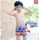 新款時尚沙灘平角兒童泳衣LVV422【kikikoko】