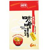 真好家味增湯-柴魚風味7.5g(6包/盒)*1盒