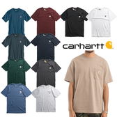 偏大/美版 CARHARTT POCKET 口袋T T-SHIRT 素T 素面 重磅 6.75OZ 短T 男女(布魯克林) K87-