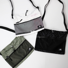 IMPACT New Balance Bag 束口 斜背包 側背 腰包 黑 白 軍綠 網格 BGCBAA604