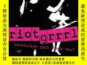 二手書博民逛書店Riot罕見Grrrl-女權朋克Y443421 Nadine Monem Black Dog Publish.