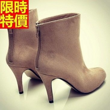 短靴 高跟女靴子-流行精美復古熱銷休閒2色66c37【巴黎精品】