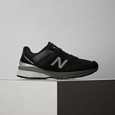 New Balance 女鞋 黑 復古 麂皮 休閒鞋 W990BK5