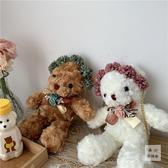 日系原宿少女ins小熊軟妹斜背包lolita蘿莉lo娘可愛玩偶手機包包 貝芙莉