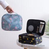 化妝包/火烈鳥女大容量多功能便攜隨身袋收納包「歐洲站」