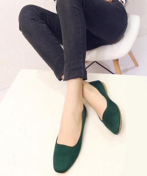 春夏時髦方頭懶人豆豆奶奶鞋淺口平底鞋平跟單鞋韓版女鞋 夢想生活家