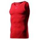 運動背心男跑步吸汗彈力訓練壓縮健身無袖運動t恤籃球雷魅  快速出貨