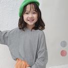 中性款百搭寬鬆條紋長袖上衣 薄長袖 秋裝 男童 女童 橘魔法 現貨 兒童 童裝 童 中童
