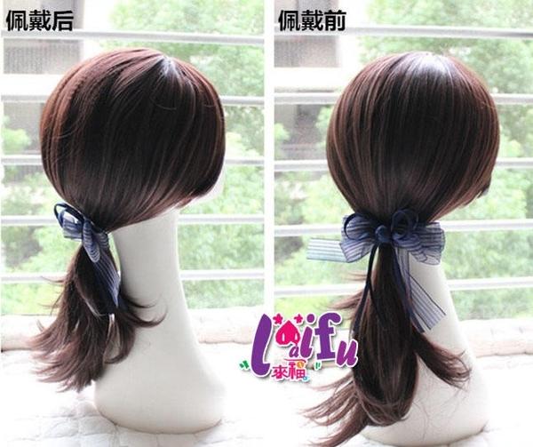 依芝鎂-W114假髮片半玉米須假髮也可以補二側假髮,1片售價188元