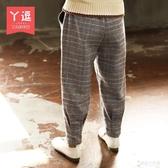 女童褲子 女童加絨褲子秋冬裝新款洋氣兒童裝加厚休閒褲中大童外穿長褲 東京衣秀