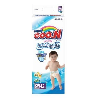 日本大王 GOO.N 紙尿褲 (境內版) XL42 片/包 1箱4包【限宅配】