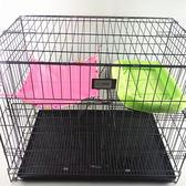 寵物吊床-貓吊床寵物夏季涼快透氣掛貓籠子秋千貓窩貓睡袋大號掛床窗台【完美生活館】