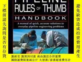 二手書博民逛書店Pipeline罕見Rules Of Thumb Handbook Sixth Edition: A Manual