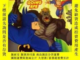 二手書博民逛書店英文原版罕見少兒繪本 I Can Read! Batman: Going Ape 蝙蝠俠:去模仿Y20868