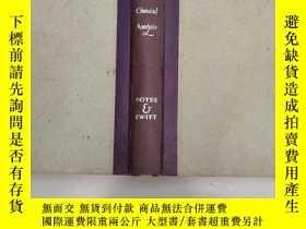二手書博民逛書店A罕見COURSE OF INSTRUCTION IN THE QUALITATIVE CHEMICAL ANAL