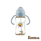 【贈奶嘴刷】Simba小獅王辛巴巧虎PPSU自動把手滑蓋杯 (270ml)(4718003011126藍) 510元