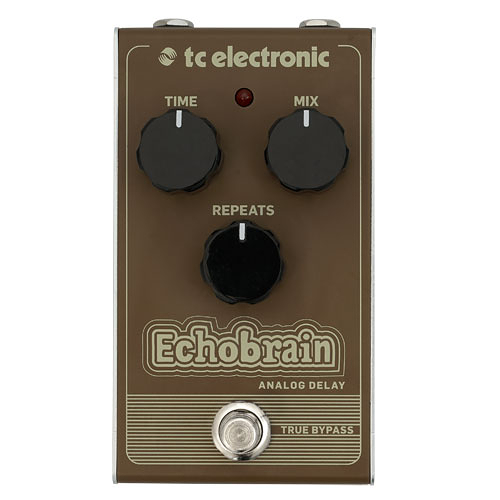 【敦煌樂器】tc electronic Echobrain Analog Delay 效果器