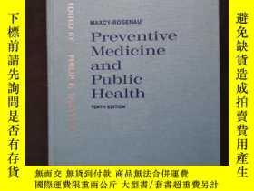 二手書博民逛書店Preventive罕見Medicine and Public Healith (布面.精裝)Y12345 T