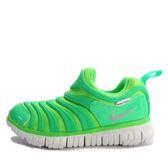 Nike Dynamo Free PS [343738-307] 中童鞋 慢跑 運動 休閒 舒適 透氣 綠 白
