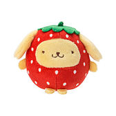 Sanrio 布丁狗 Q版手心尺寸迷你造型玩偶(草莓BABY版)★funbox★_643688