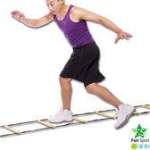 《Fun sport》敏捷性訓練器材-繩梯(Agility Ladder)/步伐練習器/足球/敏捷訓練