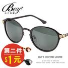造型眼鏡 休閒簡約圓框墨鏡【NQ-WD2858】