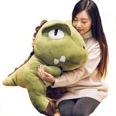 霸王龍公仔可愛恐龍毛絨玩具抱枕布娃娃玩偶生日禮物睡覺抱枕床上   蘑菇街小屋   ATF