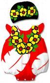 貝比幸福小舖【01699-A】歐美百搭可愛卡通造型無袖包屁衣+帽子大集合-17小莉蘿