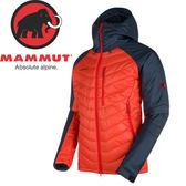 【MAMMUT 男 Rime Pro IN Hooded 連帽化纖外套 《 紅/藍》】1010-21880/化纖外套★滿額送