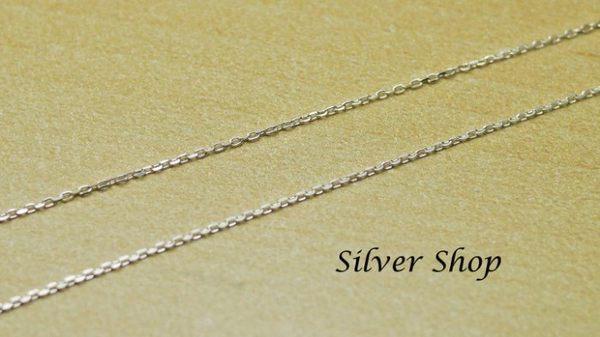 ╭☆ Silver shop ☆╯純銀 S925 套鍊 素銀 [ snn 014 ]