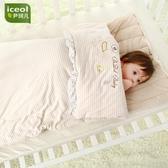 春秋冬季純棉嬰兒睡袋新生兒加厚款寶寶嬰幼兒小孩防踢被兒童被子 星河光年DF
