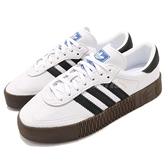adidas 休閒鞋 Sambarose W 白 黑 焦糖 鬆糕鞋 厚底增高鞋 女鞋【ACS】 AQ1134