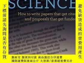 二手書博民逛書店Writing罕見Science:How to Write Papers That Get Cited and P