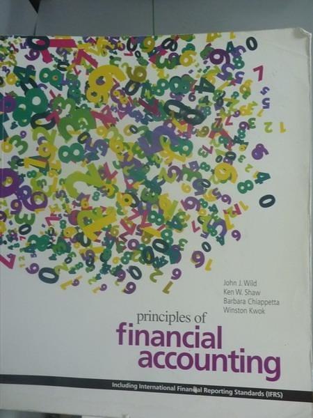 【書寶二手書T9/大學商學_PGP】Principles of Financial Accounting_Wild、Sh