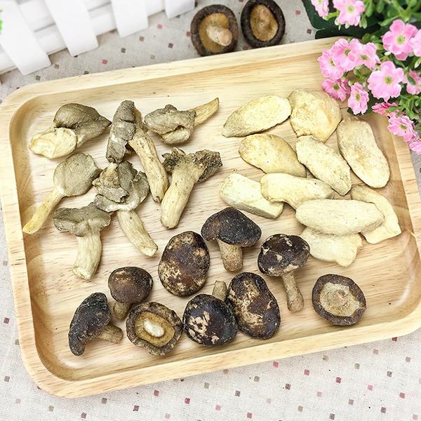 綜合菇菇脆片 大包裝 【菓青市集】