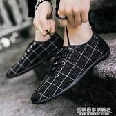 男鞋子春季透氣老北京帆布鞋豆豆鞋男板鞋休閒鞋駕車鞋潮流社會鞋 名購新品