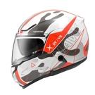【東門城】ZEUS ZS3300 GG25(白紅) 可掀式安全帽 雙鏡片