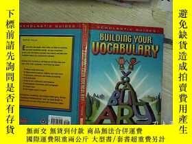 二手書博民逛書店BUILDING罕見YOUR VOCABULARY 建立你的詞彙