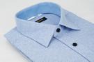 【金‧安德森】藍白條紋保暖窄版長袖襯衫
