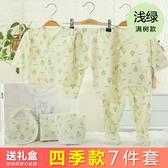 新生兒禮盒剛出生新生兒衣服套裝純棉初生0-3個月寶寶用品滿月禮物【樂享生活館】liv