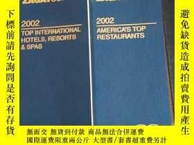 二手書博民逛書店Zagatsurvey罕見2002 America s Top