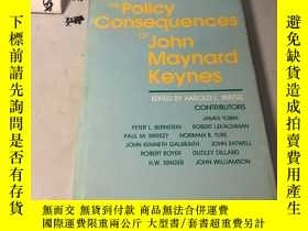 二手書博民逛書店英文原版:The罕見Policy Consequences of