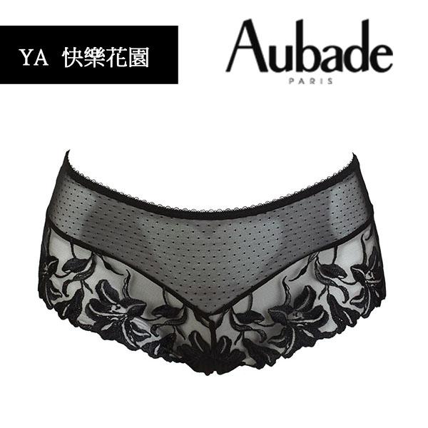Aubade-快樂花園B-D薄襯內衣(黑)YA