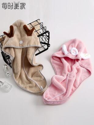 干發帽女超強吸水速干洗頭毛巾抖音擦頭發神器可愛
