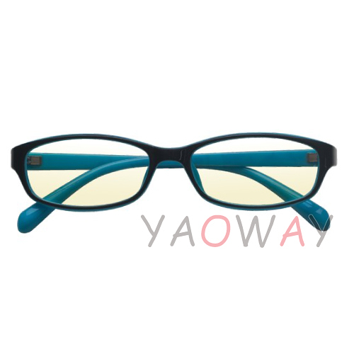 【耀偉】濾藍光眼鏡 兒童粉藍BLS1301-PB