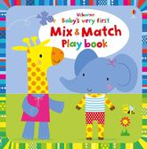 Baby's Very First Mix And Match Playbook 動物配對遊戲書
