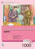 (二手書)福爾摩斯 The Adventures of Sherlock Holmes(25K軟皮精裝+1CD)