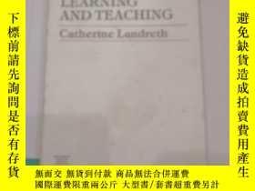 二手書博民逛書店preschool罕見learning and teaching(V093)Y173412 Catherine