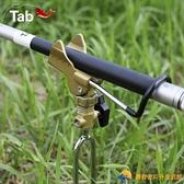 海桿支架魚竿支撐架地插多功能兩用釣魚炮臺架桿桿架【勇敢者戶外】